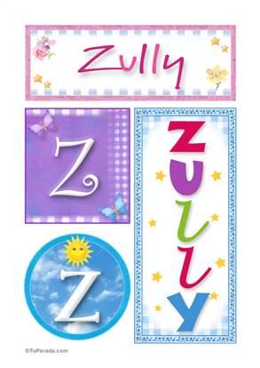 Zully - Carteles e iniciales