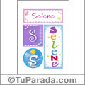 Selene - Carteles e iniciales