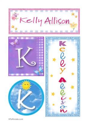 Kelly Allison, nombre, imagen para imprimir