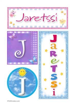Jaretssi, nombre, imagen para imprimir