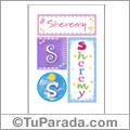 Sheremy, nombre, imagen para imprimir