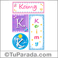 Keimy, nombre, imagen para imprimir