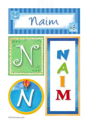 Naim - Carteles e iniciales