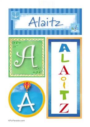 Alaitz - Carteles e iniciales