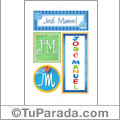 José Manuel - Carteles e iniciales