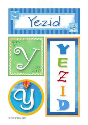 Yezid - Carteles e iniciales
