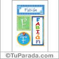 Fabian - Carteles e iniciales