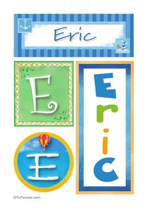 Eric - Carteles e iniciales