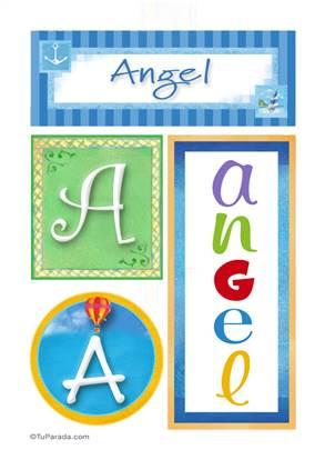 Angel - Carteles e iniciales