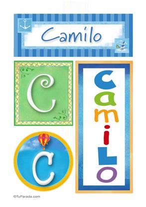 Camilo - Carteles e iniciales