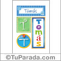 Tomás - Carteles e iniciales