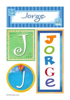 Jorge - Carteles e iniciales