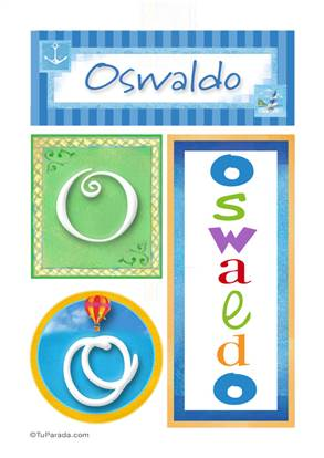 Oswaldo - Carteles e iniciales