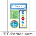 Enoch - Carteles e iniciales