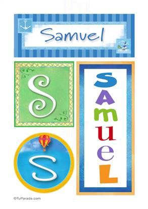 Samuel - Carteles e iniciales