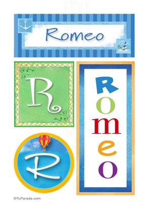 Romeo - Carteles e iniciales