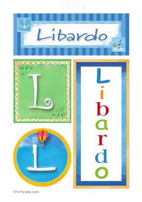 Libardo, nombre, imagen para imprimir