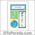 Joseph, nombre, imagen para imprimir