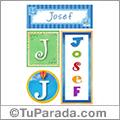 Josef, nombre, imagen para imprimir