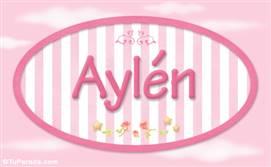 Aylén - Nombre decorativo