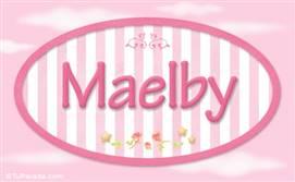 Maelby - Nombre decorativo