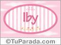Iby - Nombre decorativo