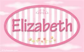 Elizabeth - Nombre decorativo