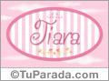 Tiara - Nombre decorativo
