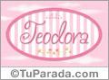 Teodora - Nombre decorativo