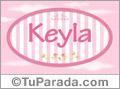 Keyla - Nombre decorativo