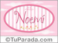Noemi - Nombre decorativo