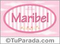 Maribel - Nombre decorativo
