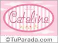 Catalina - Nombre decorativo