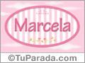 Marcela - Nombre decorativo