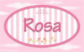 Rosa - Nombre decorativo