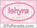 Ishyra - Nombre decorativo