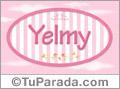 Yelmy - Nombre decorativo