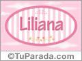 Liliana - Nombre decorativo