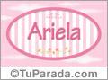 Ariela - Nombre decorativo