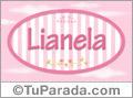 Lianela - Nombre decorativo