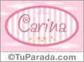 Carina - Nombre decorativo