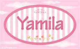 Yamila - Nombre decorativo