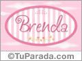 Brenda - Nombre decorativo