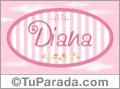 Diana - Nombre decorativo