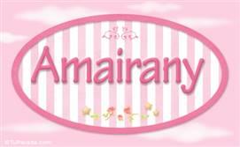 Amairany - Nombre decorativo