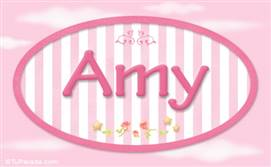 Amy - Nombre decorativo