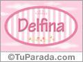 Delfina - Nombre decorativo