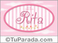 Rita - Nombre decorativo