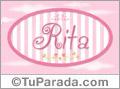 Rita - Nombre decorativo
