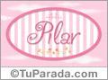 Pilar - Nombre decorativo